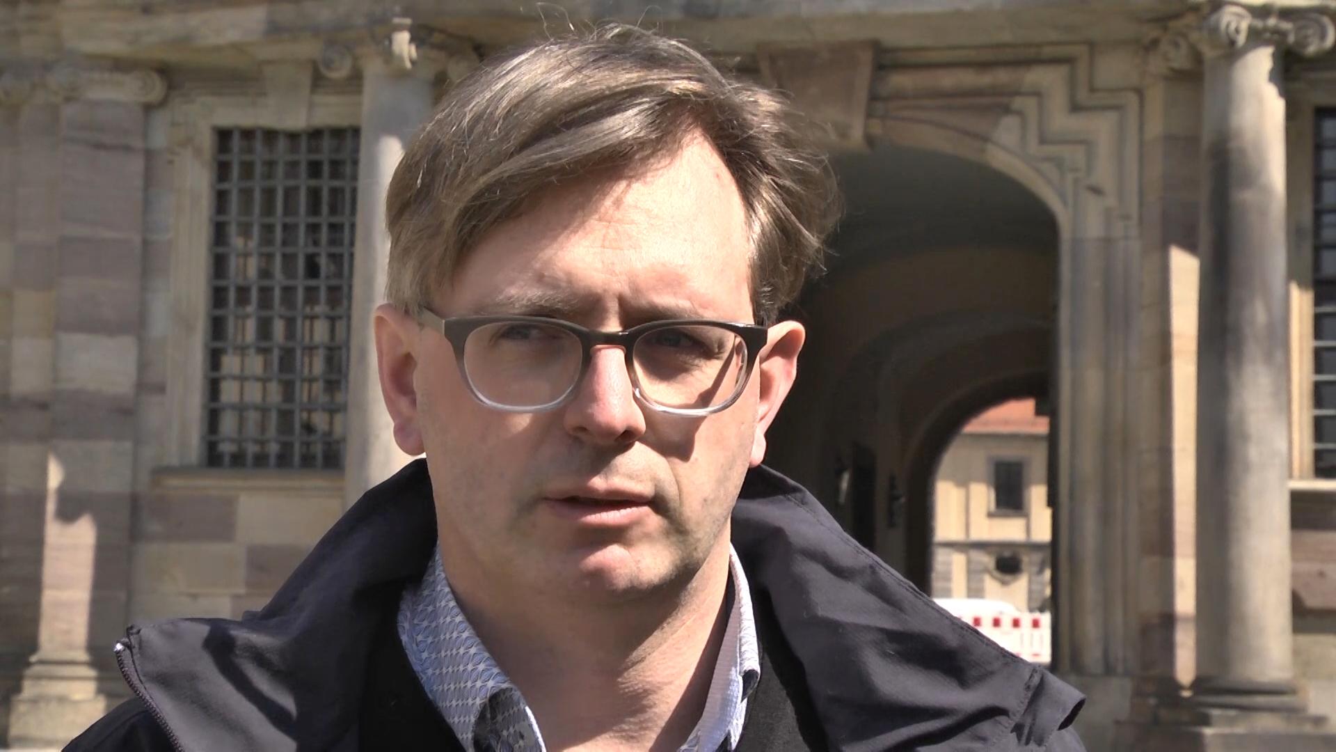 Frank Volmer, Leiter des Gebäudemanagements der Stadt Fulda
