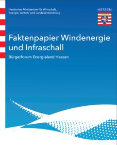 Faktenpaper Windenergie und Infraschall