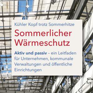 """Broschüre: """"Sommerlicher Wärmeschutz"""""""