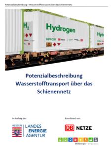 Studie: Wasserstofftransport über die Schiene