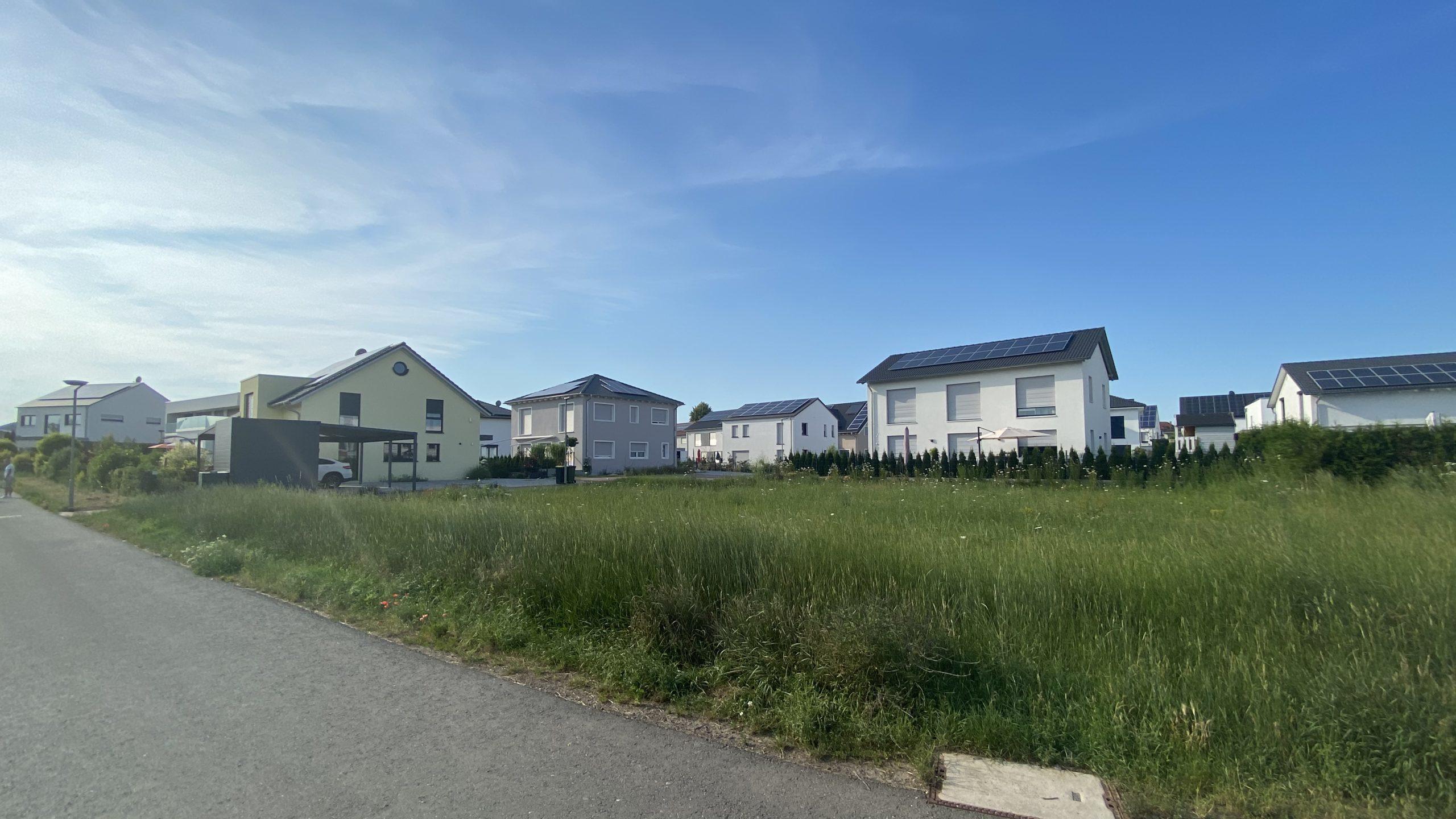 Passivhaussiedlung in Nidderau