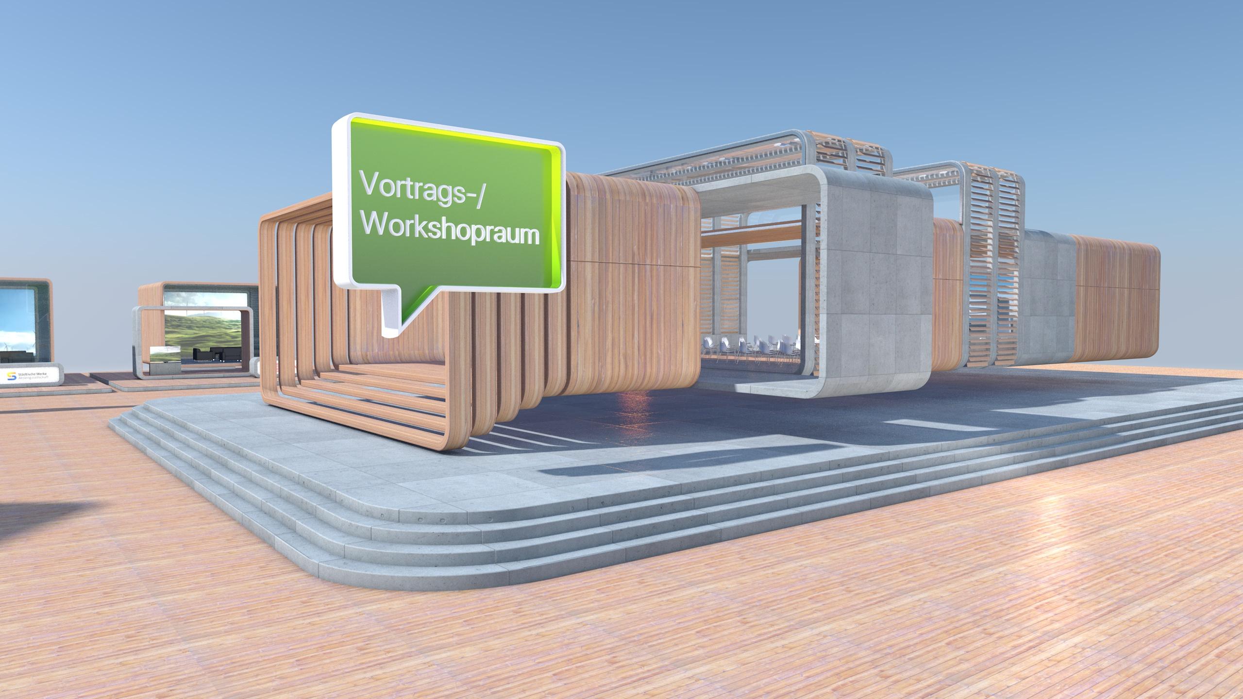 Der Entwurf des virtuellen Zukunftsforums