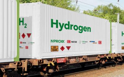 Studie der Deutschen Bahn: Wie man den Wasserstoff per Schiene transportieren kann