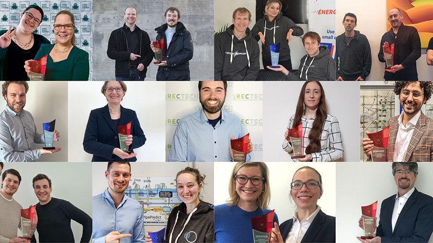 Die Gewinner von Science4Life