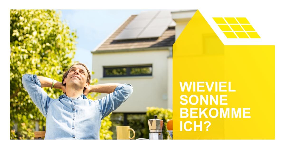 """Solarkampagne: """"Wieviel Sonne bekomme ich?"""""""