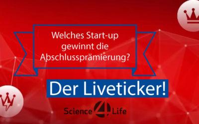 """Liveticker: Die Abschlussprämierung von """"Science4Life"""""""