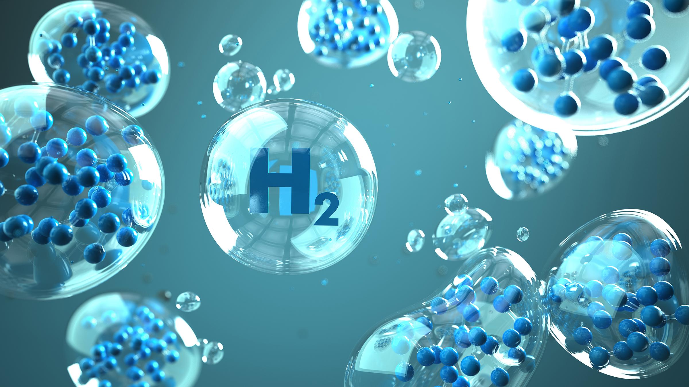 Symbolfoto: Wasserstoff